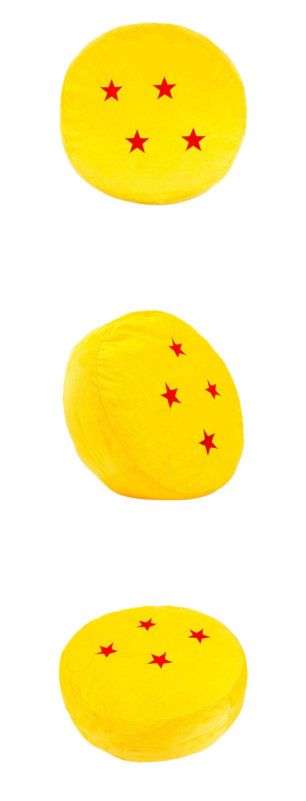 七龍珠-4星龍珠抱枕40CM【DB0140200801】