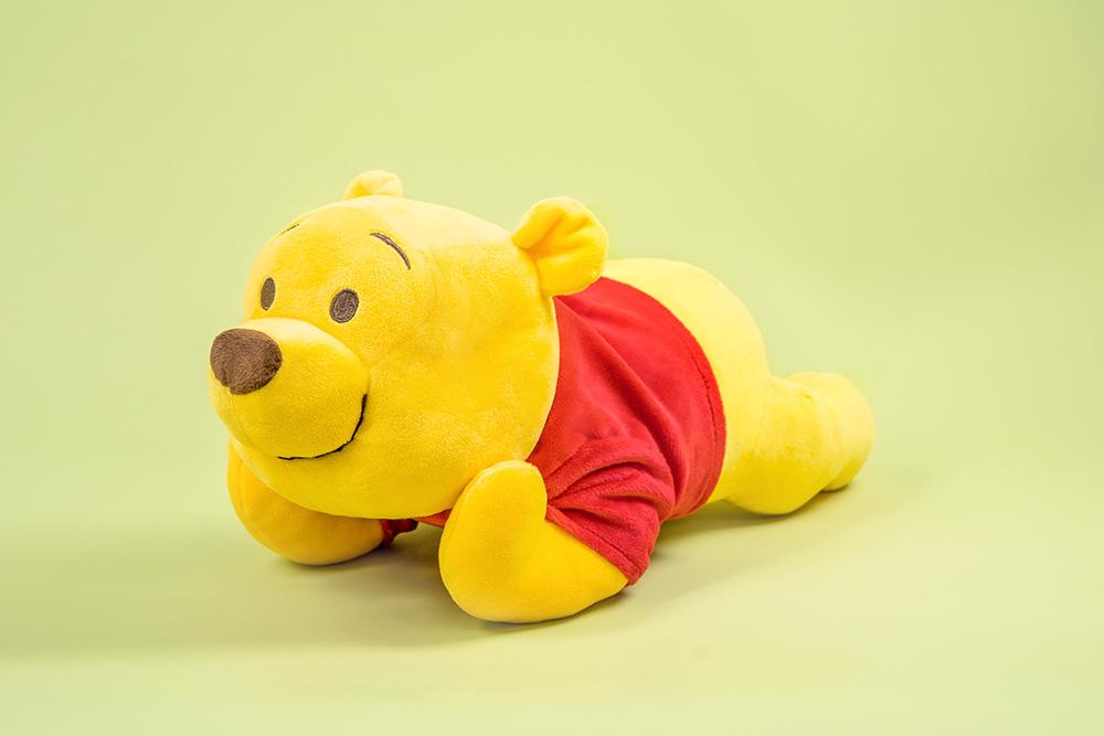 Disney迪士尼 趴姿托臉系列-維尼30CM【DN0801040504】