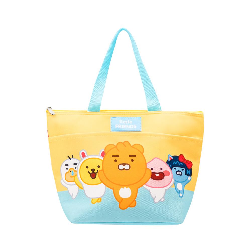 Kakao Friends 開學季保溫便當袋(黃)【KF0500201201】