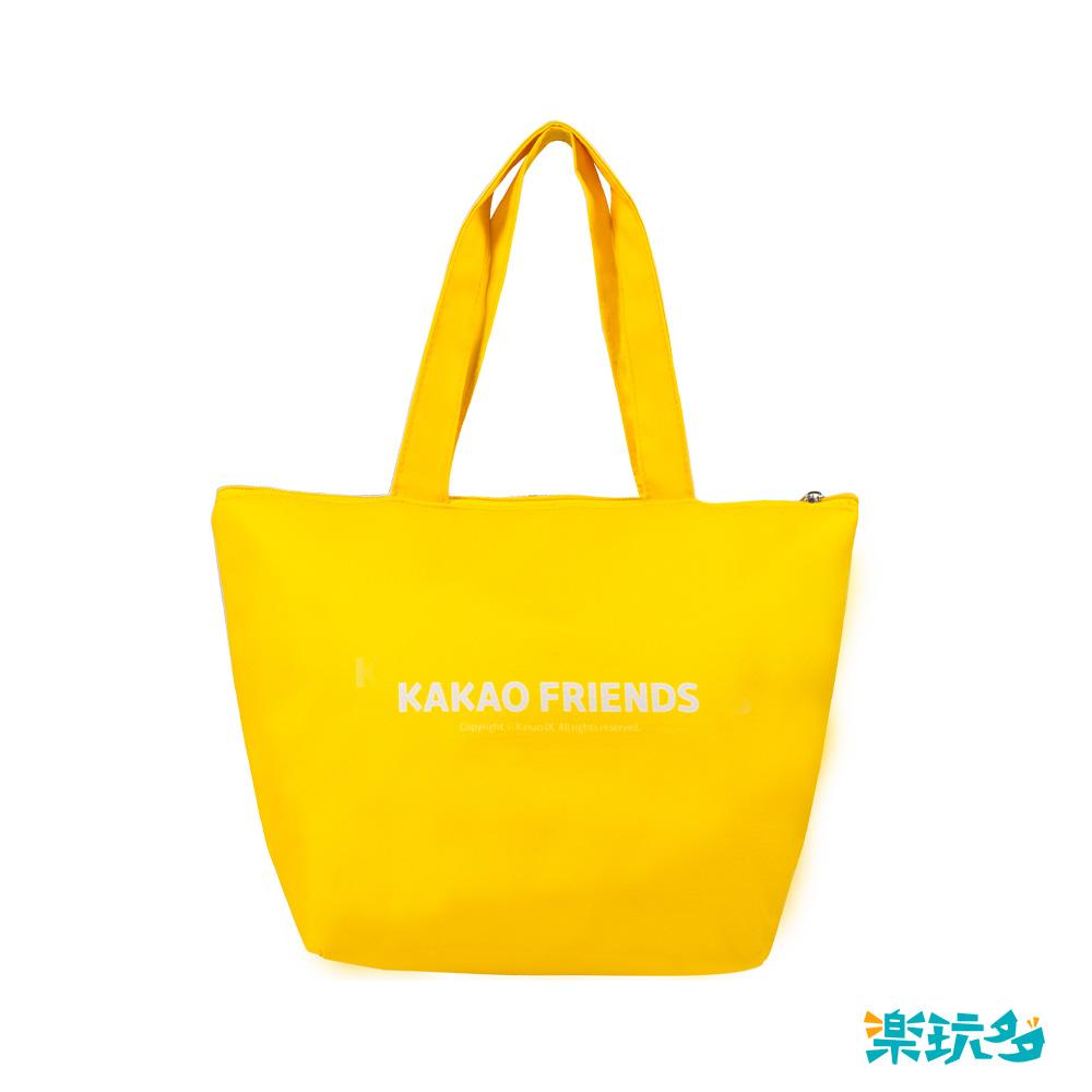 Kakao Friends 大集合保溫便當袋(黃)【KF0505020303】