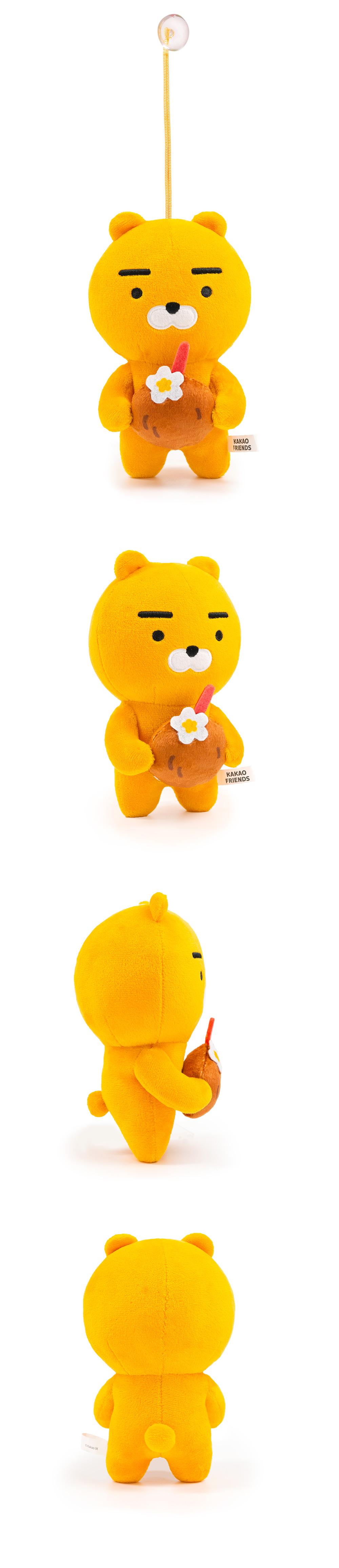 Kakao Friends夏日系列-Ryan拿椰子款16CM【KF1816200502】