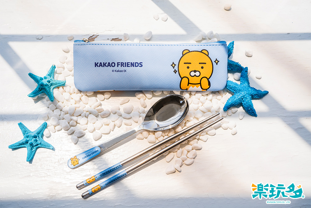 Kakao Friends Ryan餐具組【KF1900200601】