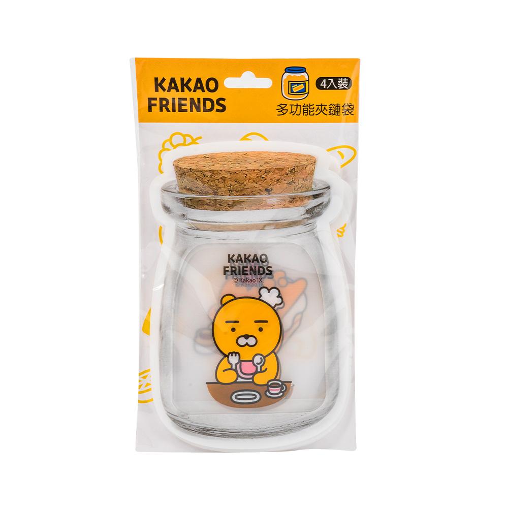 Kakao Friends 多功能夾鏈袋-Ryan甜點款【KF2320121】