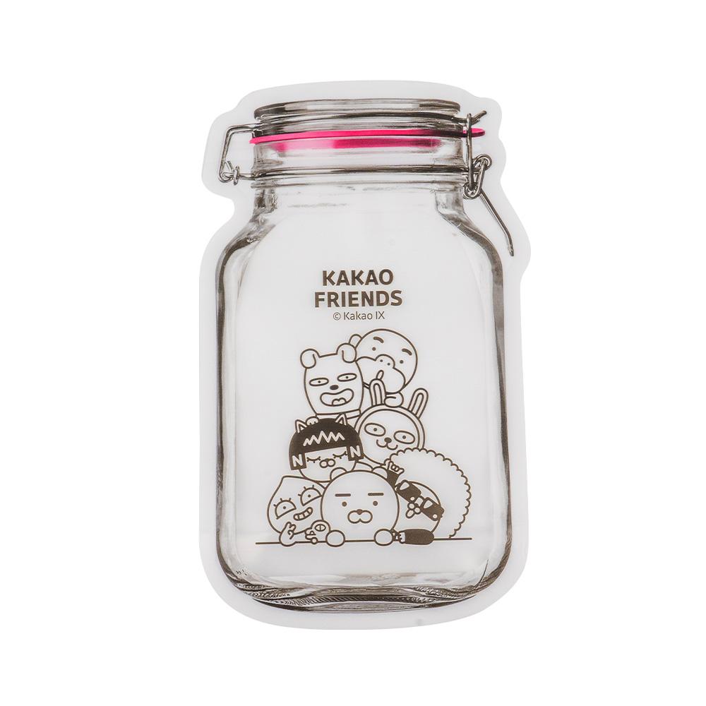 Kakao Friends 多功能夾鏈袋-大集合款【KF2320122】