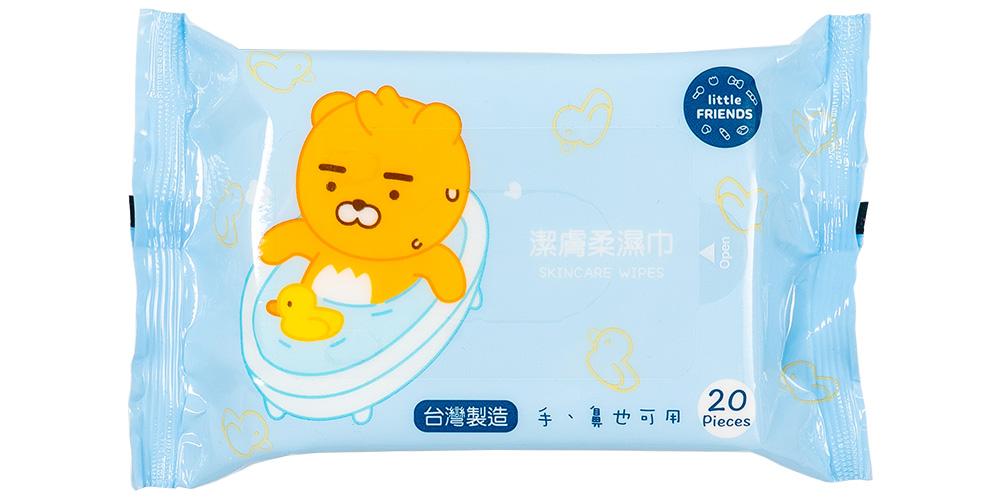 Kakao Friends_潔膚柔濕紙巾(20枚)【KF24201002】