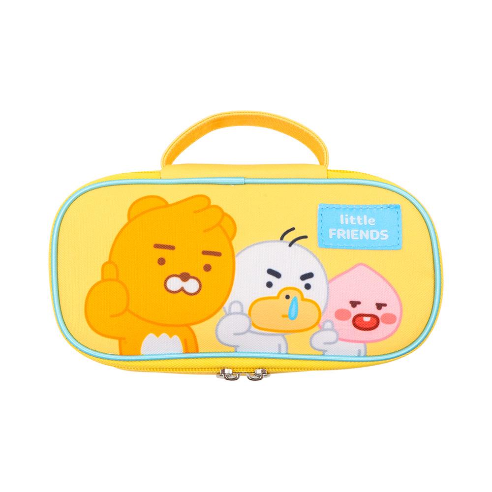 Kakao Friends 開學季筆袋(黃)【KF3100201201】