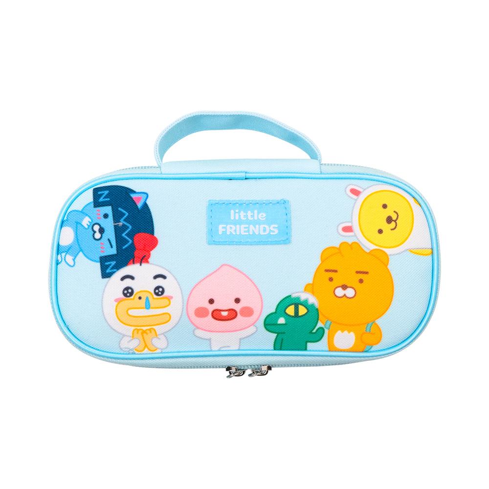 Kakao Friends 開學季筆袋(藍)【KF3100201202】