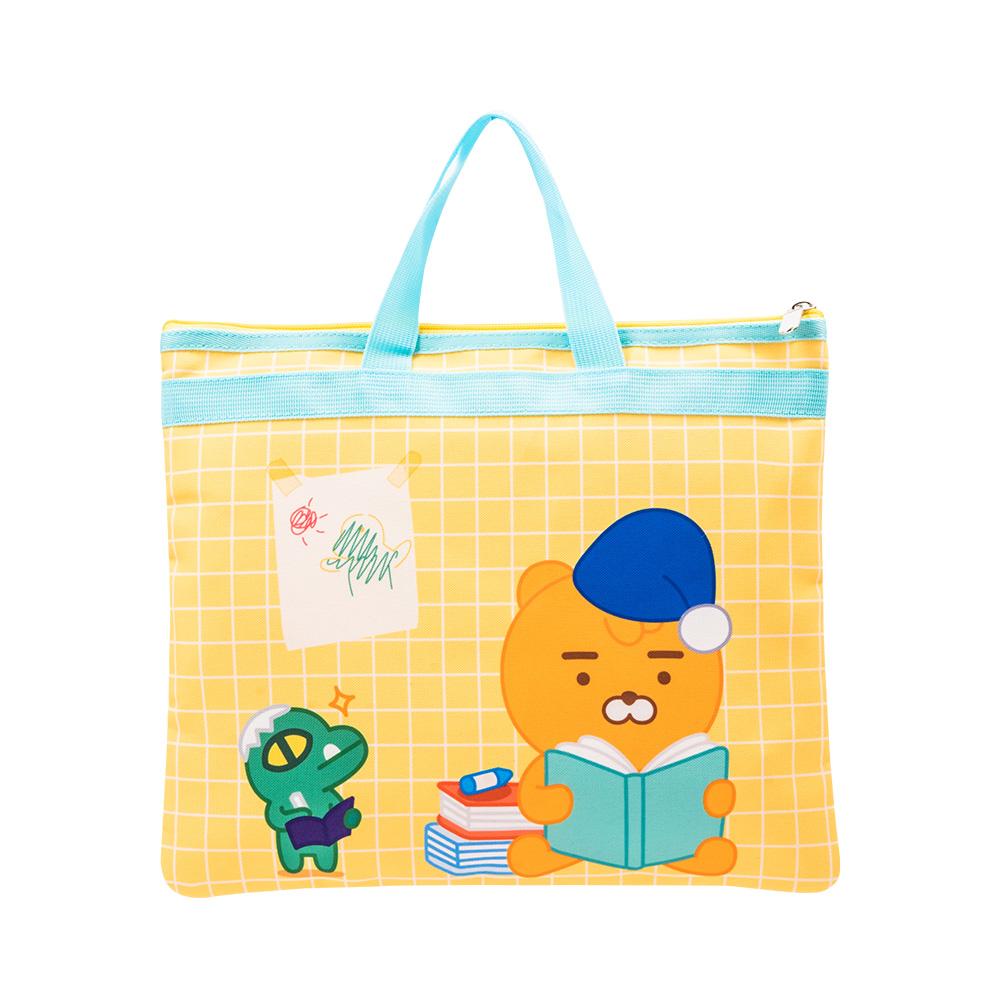 Kakao Friends 開學季補習袋(黃)【KF3200201201】