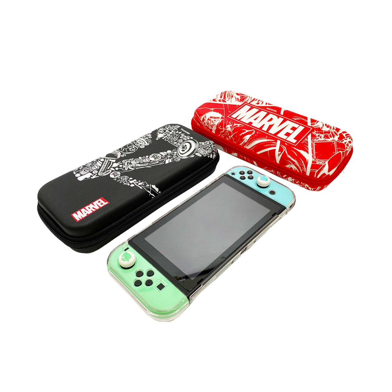 MARVEL Switch收納盒-漫畫紅款【MAR20Q1SC2602】