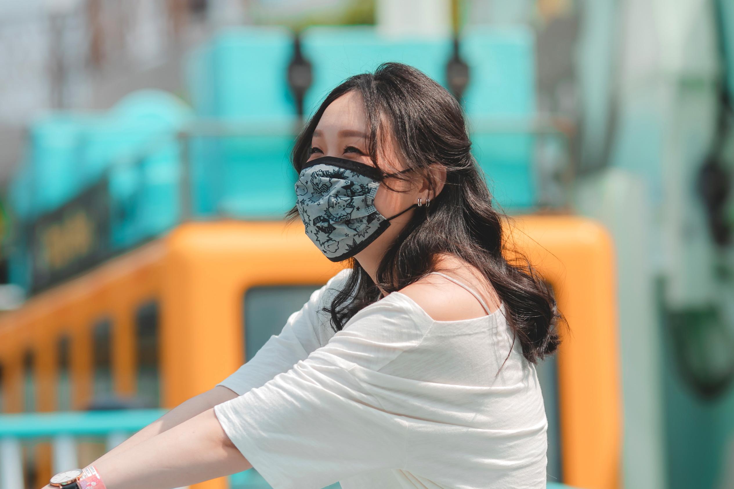 寶可夢成人平面醫用口罩(20入)-大集合線條款(灰)【PM2800201201】