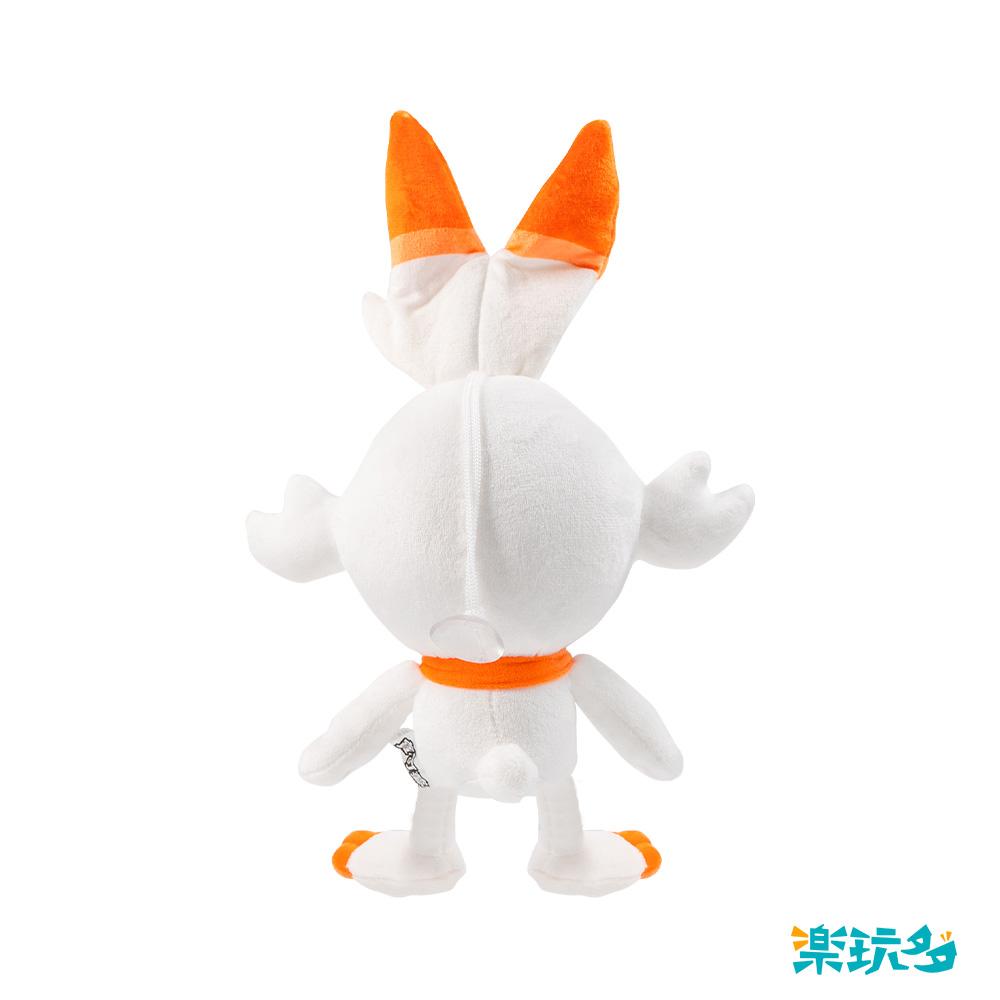 Pokemon寶可夢 炎兔兒 炎耳兔 15CM【PM6215200801】