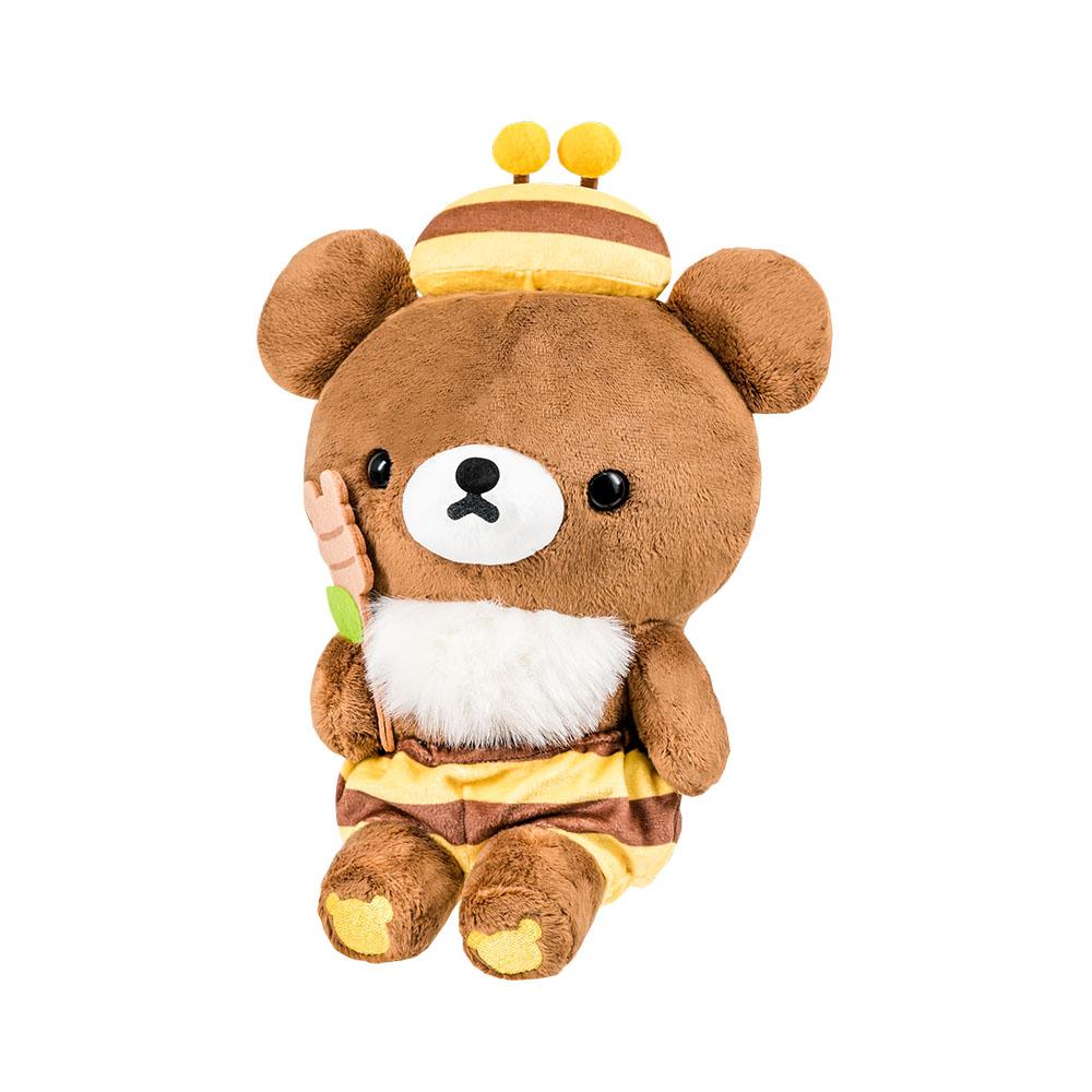 拉拉熊-茶小熊蜜蜂坐姿25CM【RK0201020509】