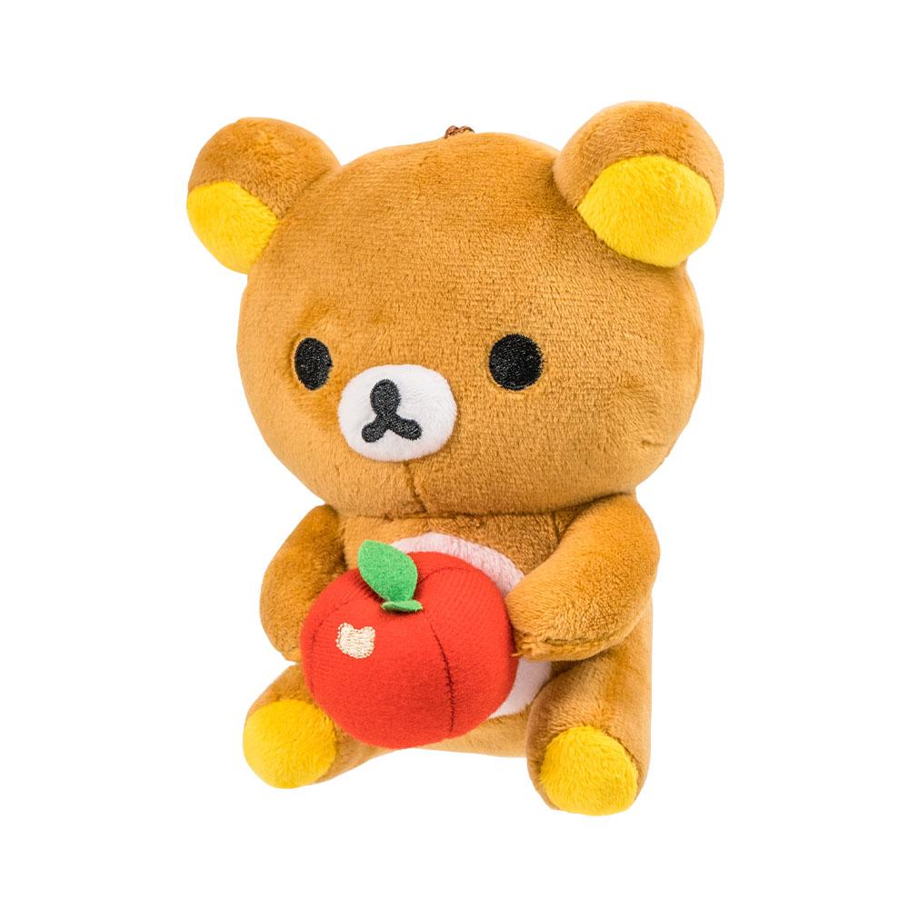 拉拉熊-坐姿抱蘋果款15CM【RK1101020207】