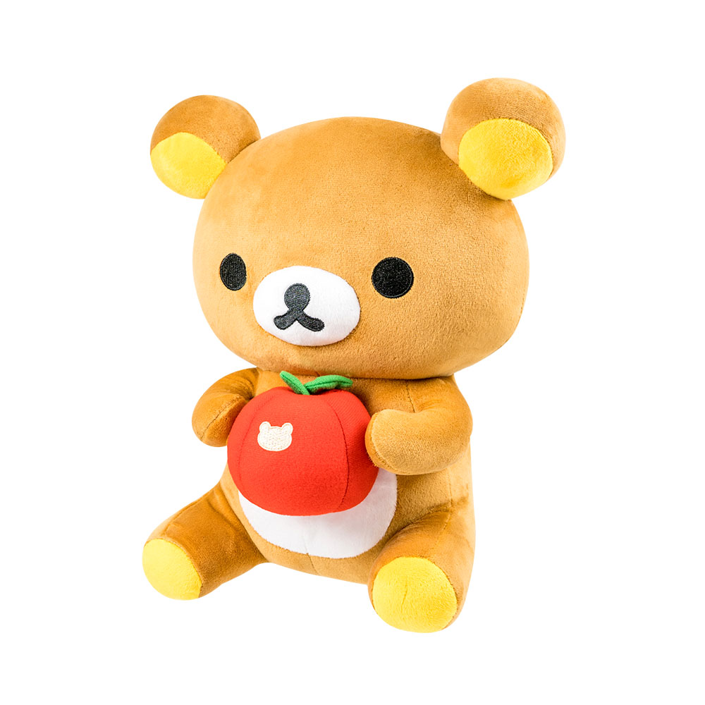 拉拉熊-坐姿抱蘋果款30CM【RK1101020507】