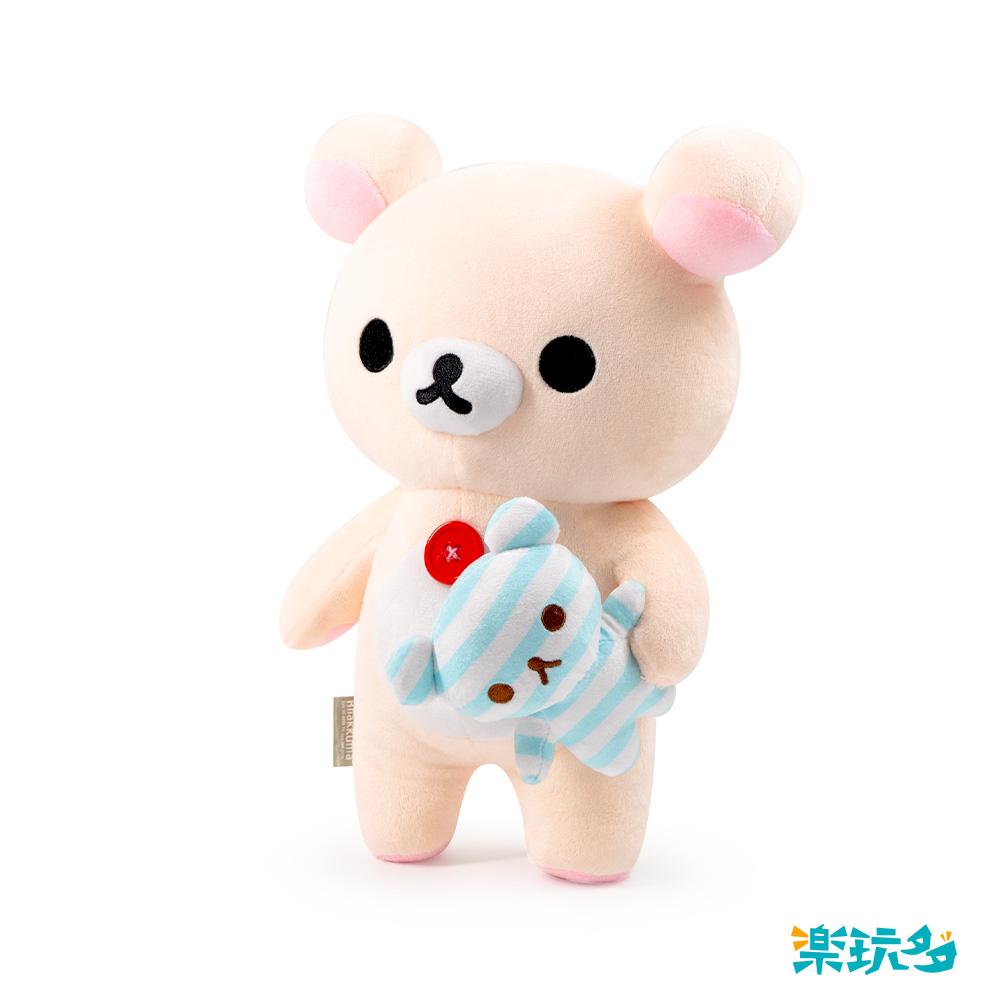 拉拉熊-牛奶熊抱娃娃款25CM【RK1401010401】