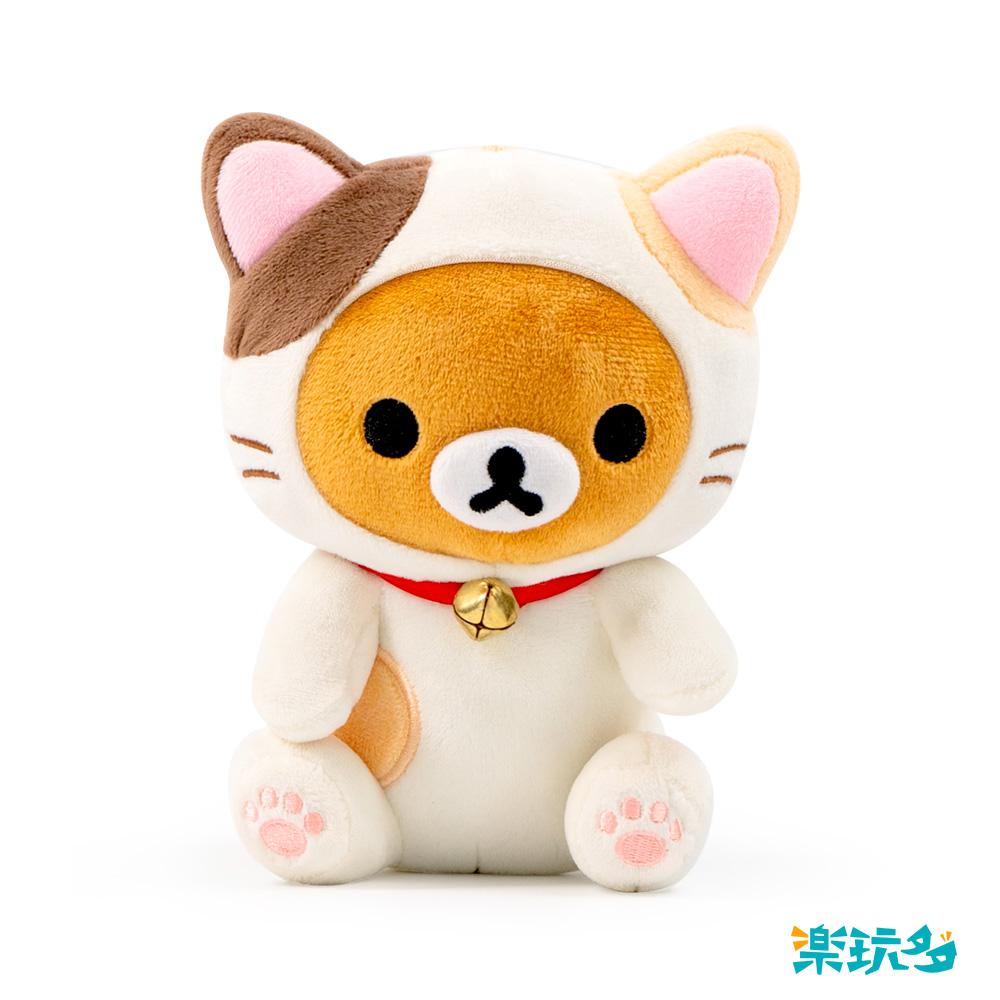 拉拉熊-坐姿貓咪款15CM【RK1501020207-1】