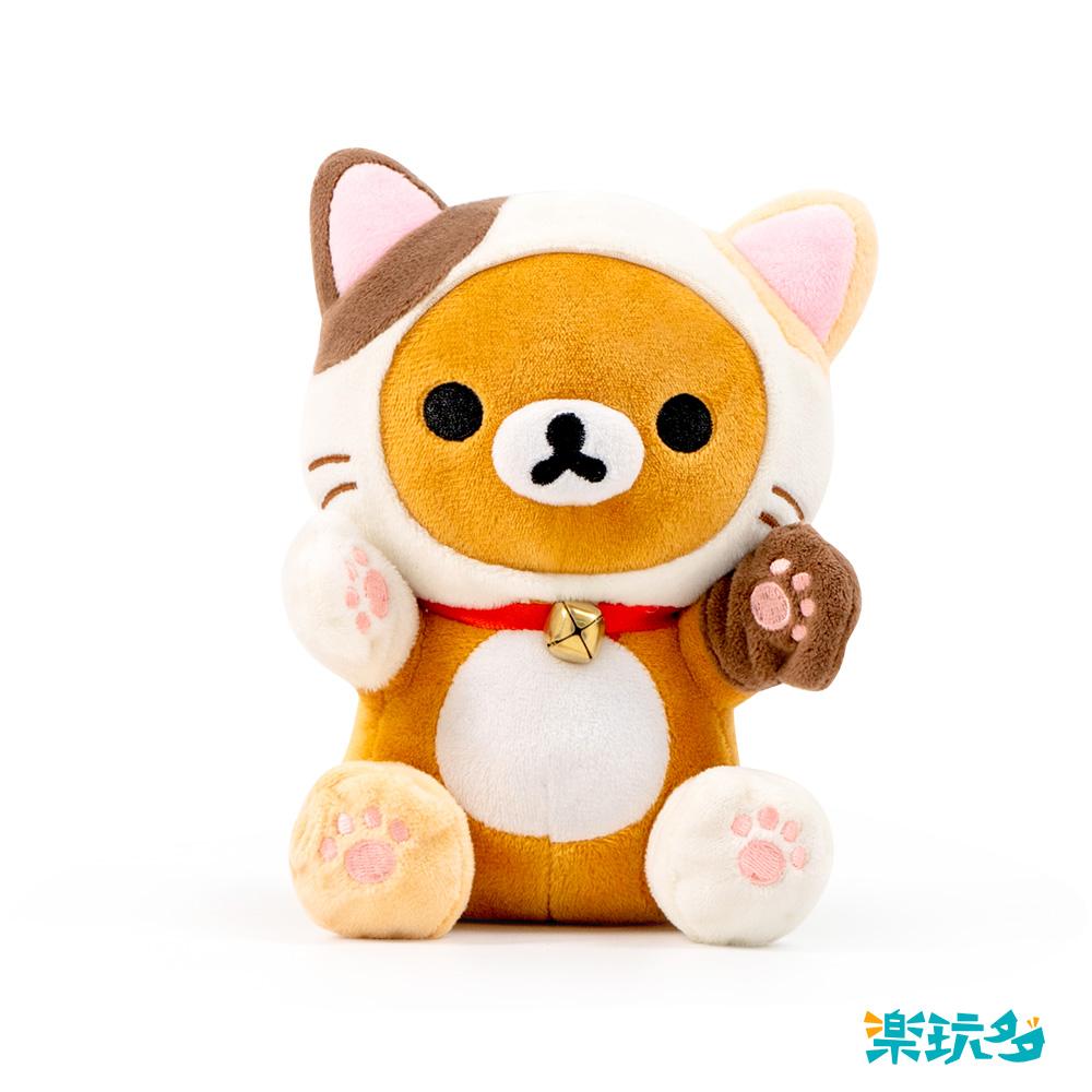 拉拉熊-跳姿貓咪款15CM【RK1501020207-2】