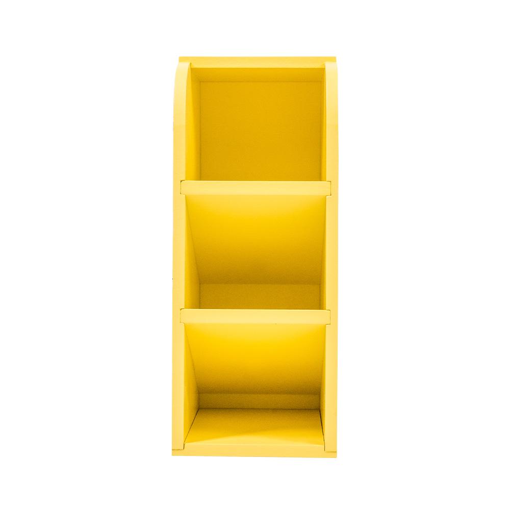 蠟筆小新三格直式收納盒-大頭黃底款【SC1022011017】