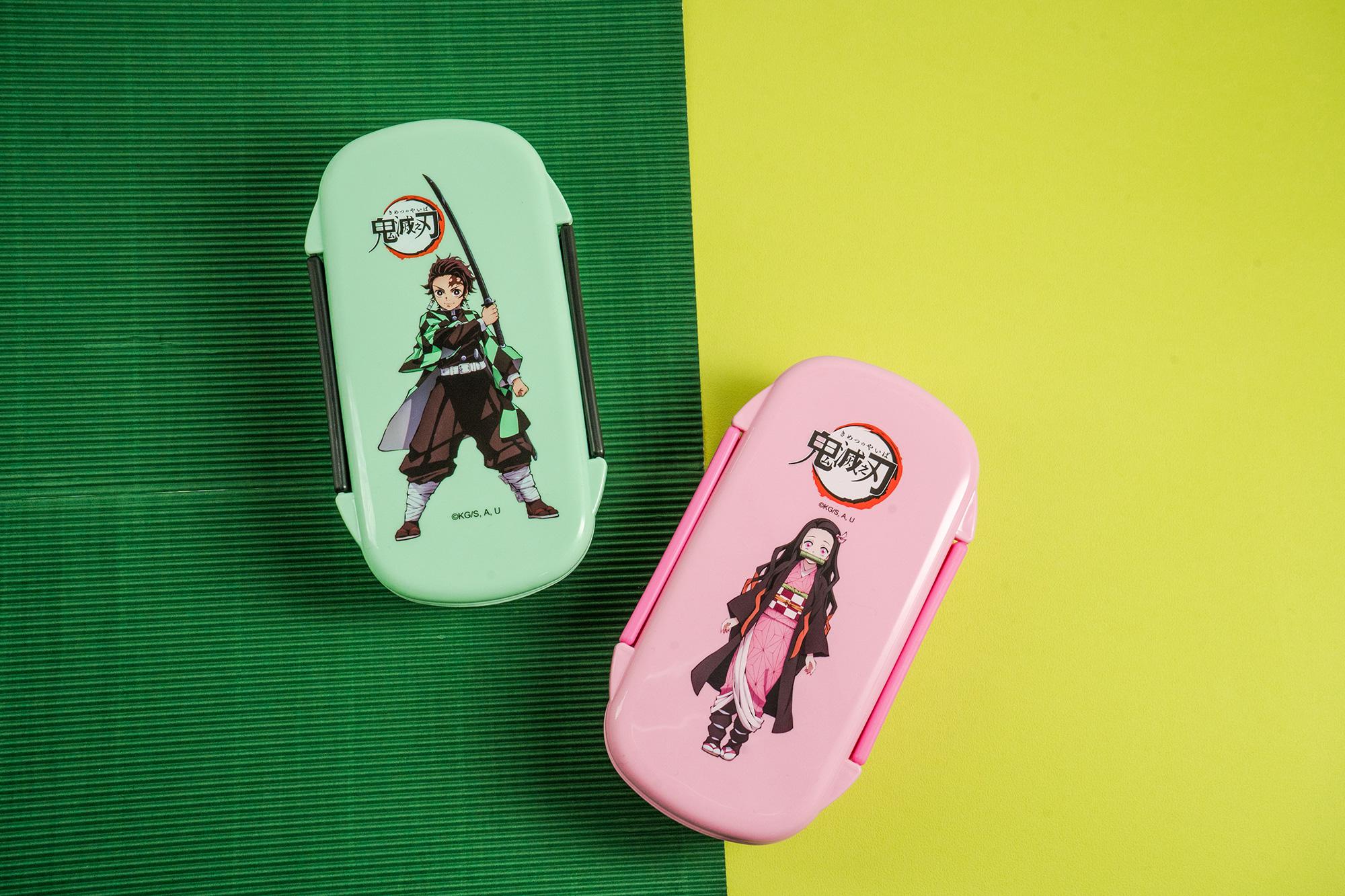 鬼滅之刃-長型便當盒-炭治郎(綠)【VT4100210101】